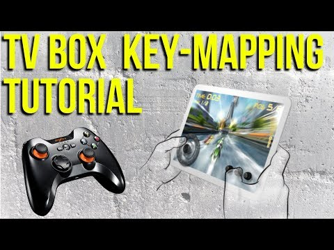 Android TV Box Keymapping Tutorial - GKM Touch Application