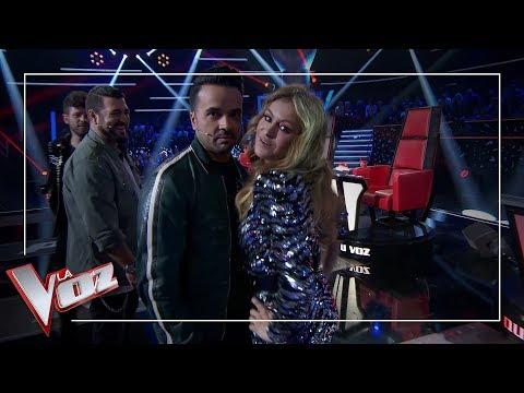 Paulina Rubio se impone ante sus tres compañeros de 'La Voz' | Momentazos | La Voz Antena 3 2019