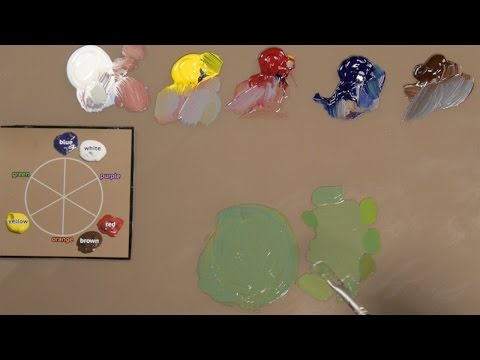how-to-match-any-color-with-oil-paint