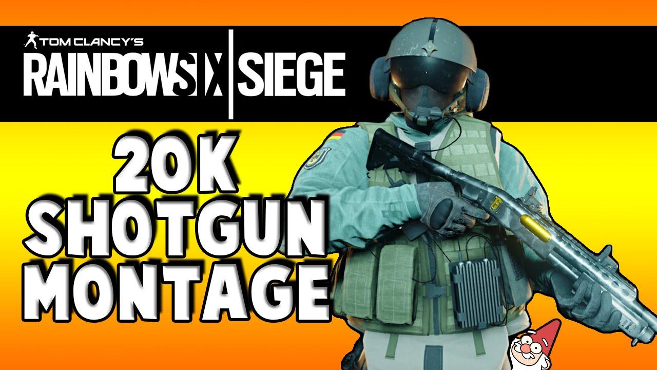 Rainbow Six Siege | 20K Subscriber Special Shotgun Montage!