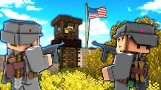 Minecraft WW2 | The Village Siege! - 11 (Heroes and Generals Roleplay)