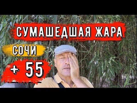 🔴🔴ЖАРА +55 В СОЧИ.Черное море.Пляж и ТУРИСТЫ в Сочи.Центральная набережная.Отдых в Сочи 2019.