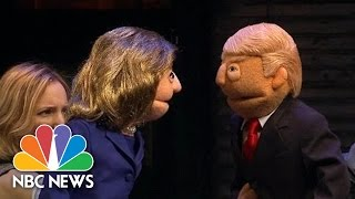 These Puppets Prove 2016 Presidential Election Is A Huge Joke   NBC News