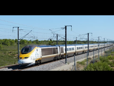 Eurostar, TGV between Marseille, Avignon,Valence, Lyon and Paris