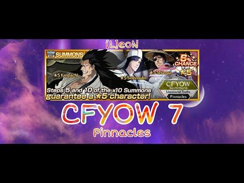 Открываем и смотрим геймплей CFYOW 7 ! + 5* TICKET в конце! | Bleach Brave Souls | [L]eoN