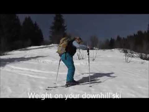 The Uphill Kick Turn - A Ski Touring Essential