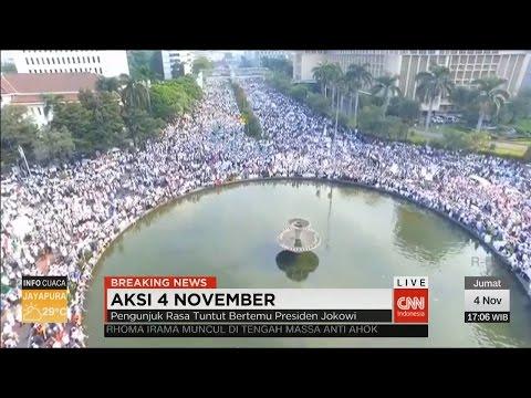 Now! Breaking News: Unjuk Rasa Damai 4 November