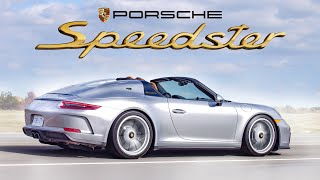 2019 Porsche 911 Speedster Review - One Of The Rarest Modern Porsches