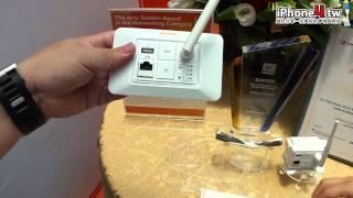 computex 2012 sapido 新產品介紹 by iphone4 tw