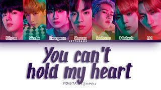 MONSTA X (몬스타엑스) – You Can't Hold My Heart (Color Coded Lyri…