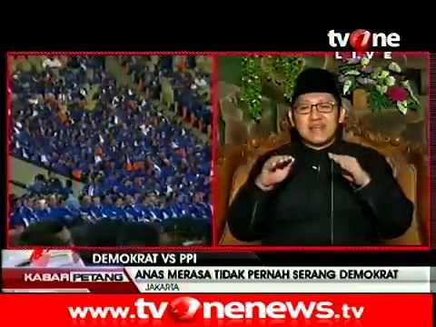 Dialog dng Anas Urbaningrum  Demokrat vs PPI