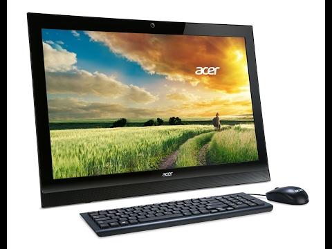 Моноблок Acer Aspire Z1-622. Распаковка и обзор компьютера.
