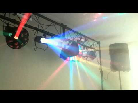 Drive in dj light gear setup