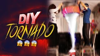 How To Make An Indoor Tornado In 3 Easy Steps!