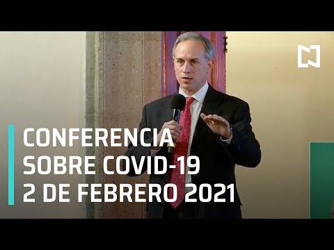 Conferencia Covid-19 en México - 2 de febrero 2021