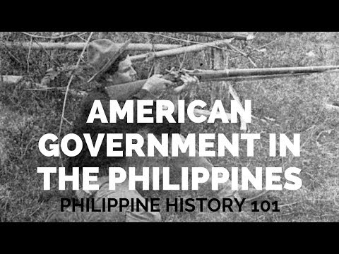 Philippine History: The American Government In The Philippines