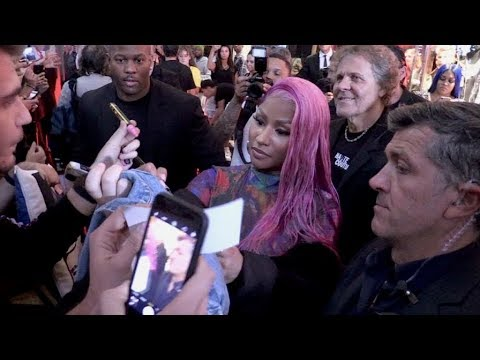 Italian fans goes nuts as Nicki Minaj unveil her new capsule collection with Diesel in Milan