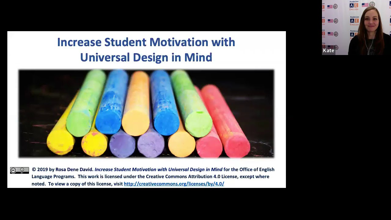 AE Live 4 1: Increase Student Motivation with Universal Design in Mind