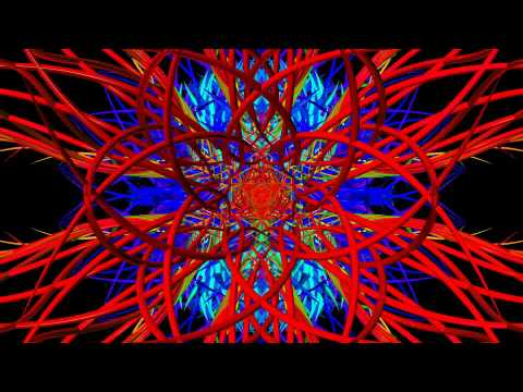 Meteor - Music by Electric Universe, Psychedelic Visuals by Chaotic