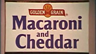 1970s Golden Grain Macaroni And Cheddar Commercial