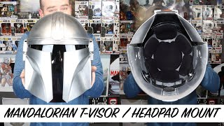 "''The Mandalorian"" T-Visor/Head Pad Harness Installation"