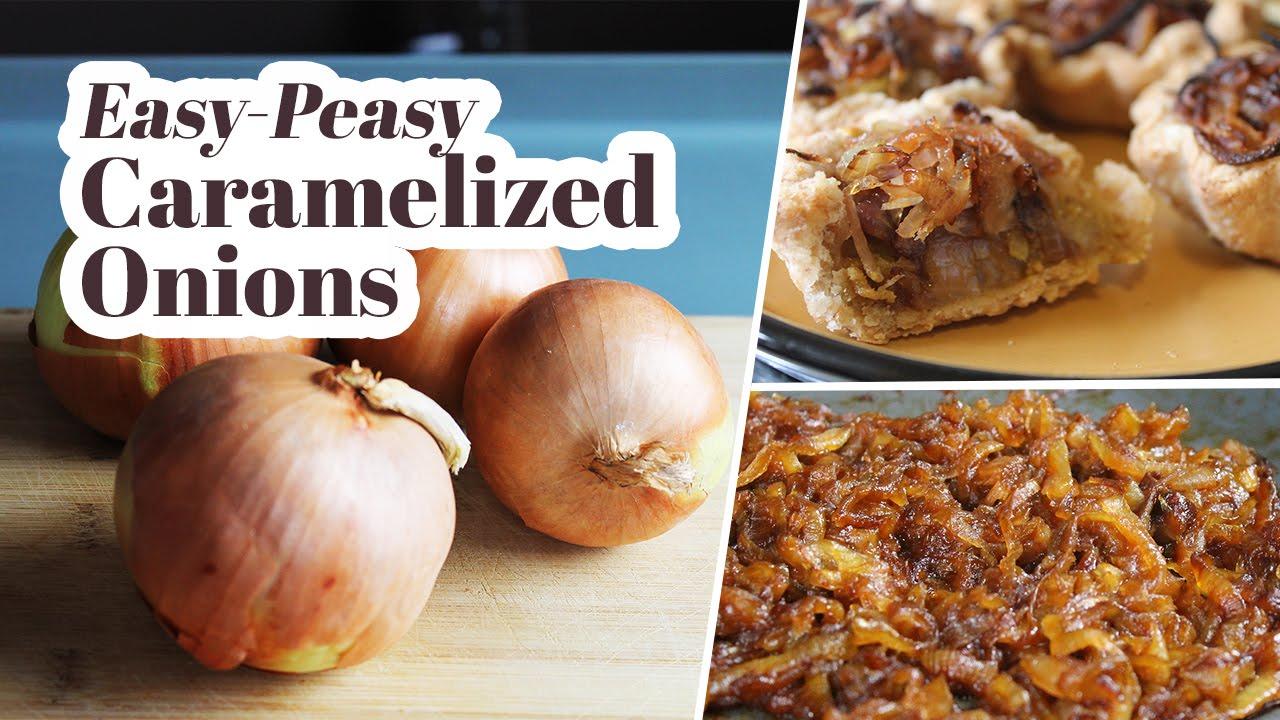 Easy, Vegan Caramelized Onions