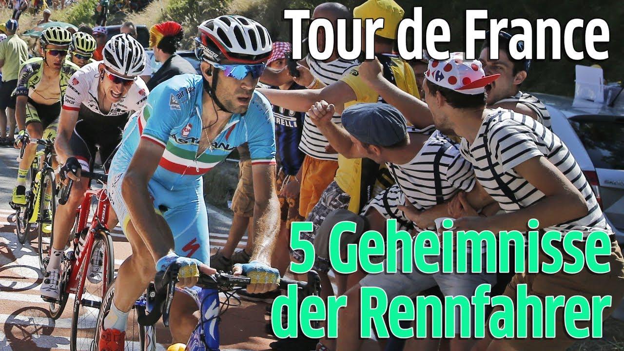 Tour de France 2017: Wie pinkeln die Radfahrer auf der