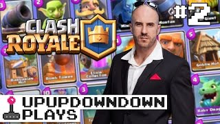 CESARO dishes pain & answers your CLASH ROYALE questions!: Clash w/ Cesaro #2 — UpUpDownDown Plays