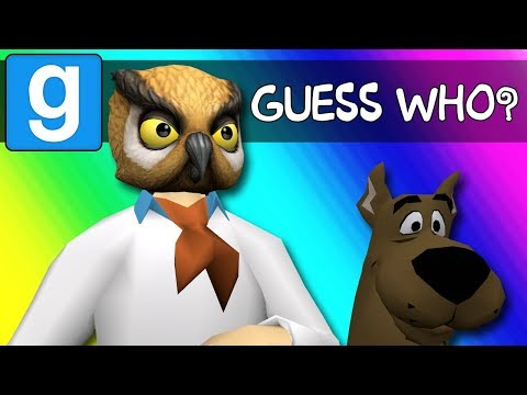 Gmod Guess Who Funny Moments - Scooby-Doo Edition! (Garry's Mod)