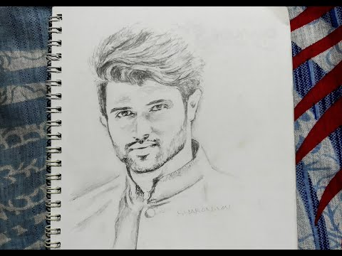 Drawing Vijay Devarakonda