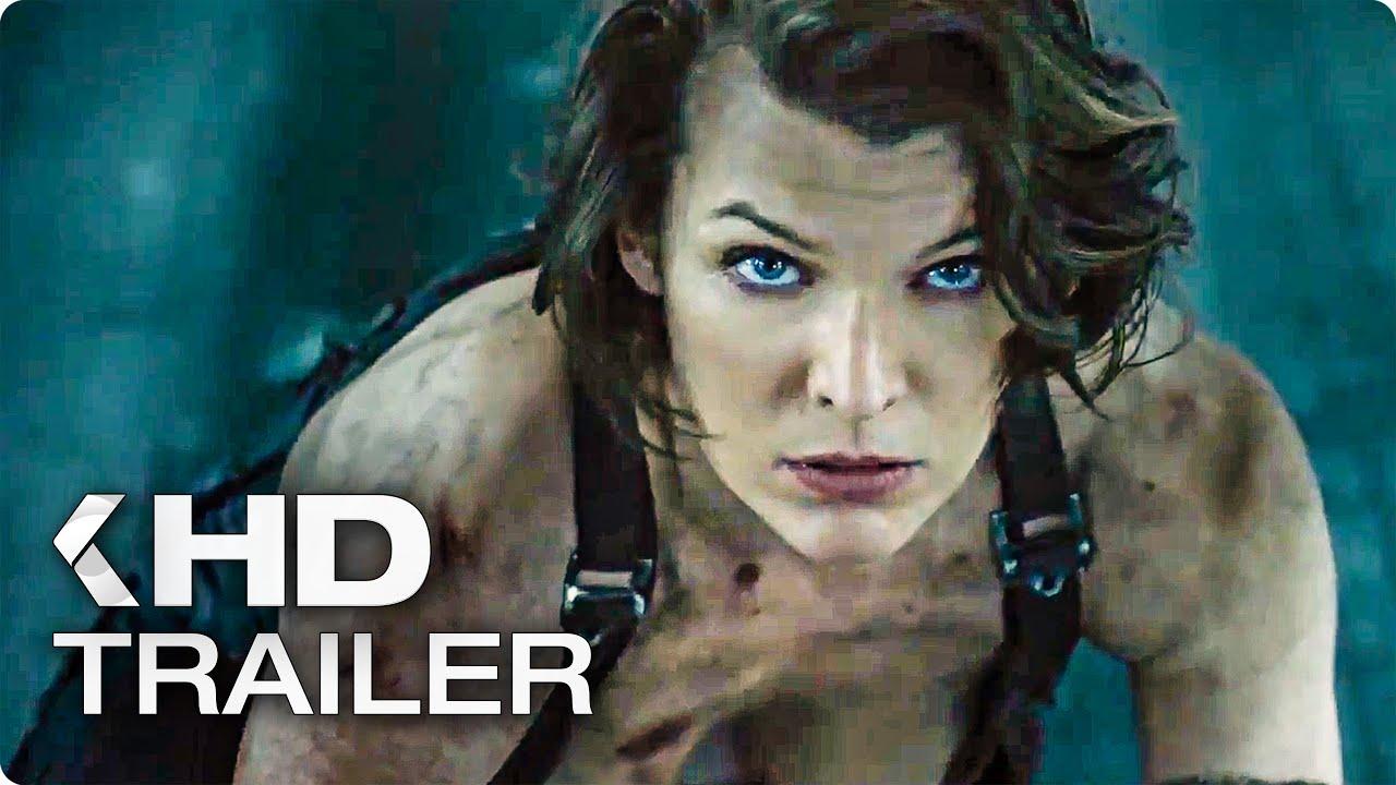 Resident Evil 6 The Final Chapter ALL Trailer