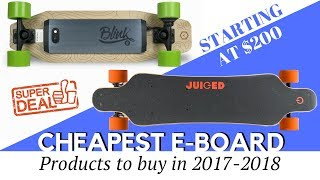 10 Cheapest Electric Skateboards on Sale in 2017-2018 (Honest Buying Guide)