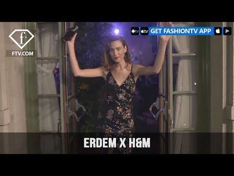 Kirsten Dunst and Kate Bosworth ERDEM x H&M Celebrate Fashion Event in LA | FashionTV | FTV