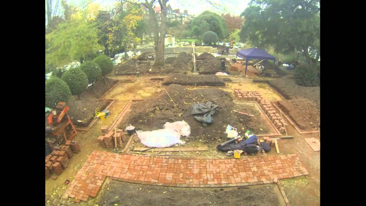 garden of medicinal plants time lapse at chelsea physic garden