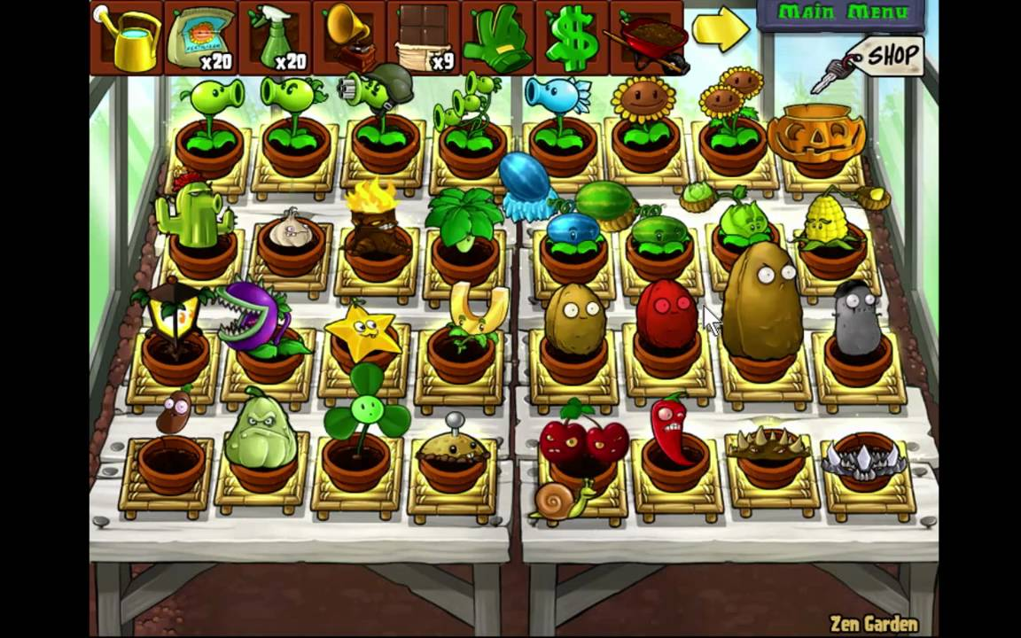 Plants Vs Zombies Zen Garden