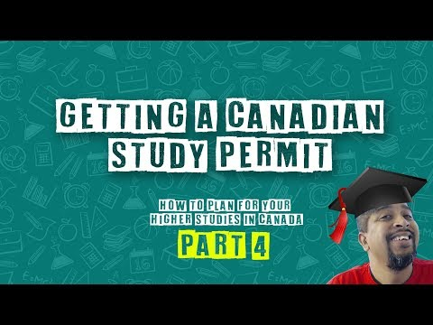 How To Get A Canadian Study Permit