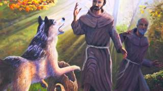 Saint Francis Taming the Wolf