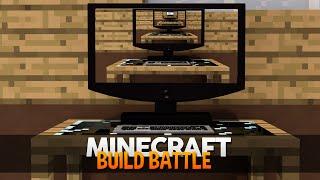 Minecraft: MINECRAFT NO MINECRAFT?! (BUILD BATTLE)