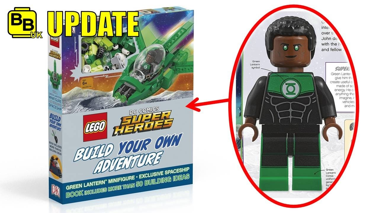 LEGO 2017 DC EXCLUSIVE JOHN STEWART GREEN LANTERN REVEALED ...