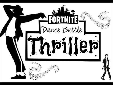 Fornite Thriller Halloween Dance Fun Physical Warm up Parody