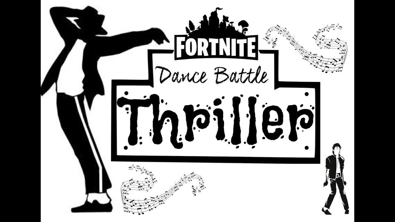 Fornite Thriller Halloween Dance Fun Physical Warm up