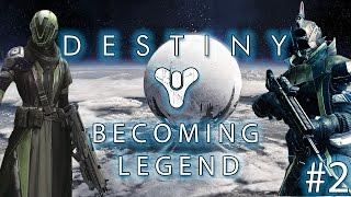 Destiny | Becoming Legend Ep.2 | Cloud City! [PS4]