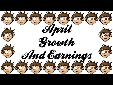 April Youtube Growth and Earnings Report