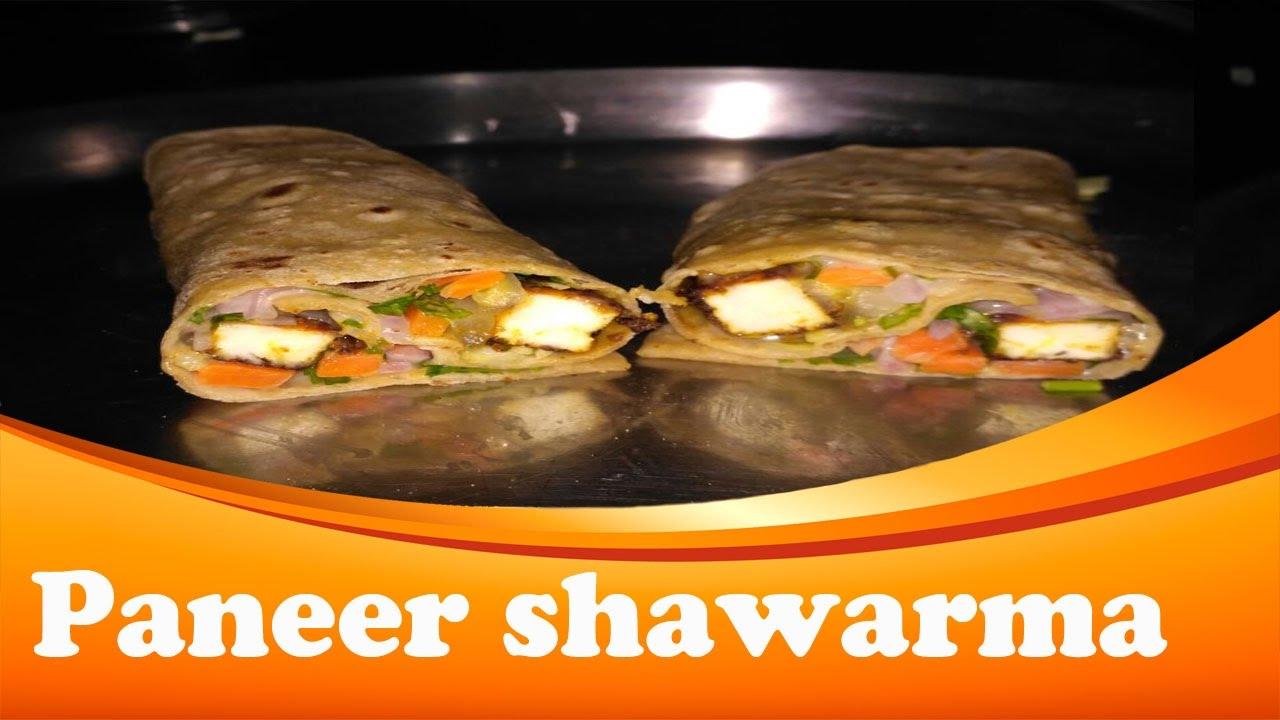 Paneer Shawarma in Tamil | Paneer Shawarma Roll Recipe ...