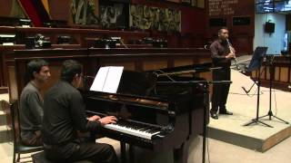 Recital de clarinete y piano - 2 Mar 2015 - Bloque 2