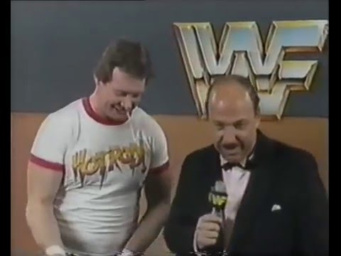 Best Promos- Roddy Piper & Mean Gene - Dick Jokes