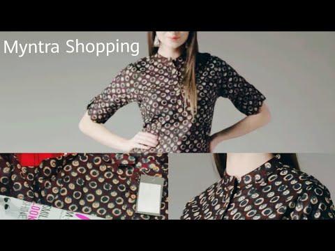 HERE & NOW Women Kurti😍 | Myntra Fashion Haul 🤩
