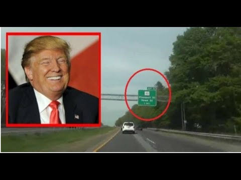 ALTERED SIGN IN LIBERAL NEW YORK HAS TRUMP HATERS LIVID!