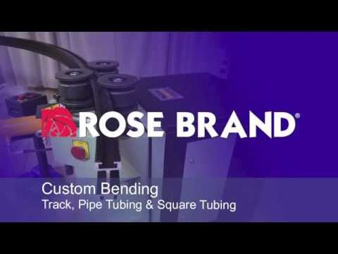 Rose Brand Custom Track Bending Services