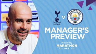 INJURY NEWS: SANE AND LAPORTE LATEST | PEP'S PRESS CONFERENCE | Tottenham v Man City